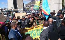 The African National Congress in the Western Cape and more than 20 civil society organizations marched to Parliament in a stand against xenophobia. Picture: Abed Ahmed/EWN.