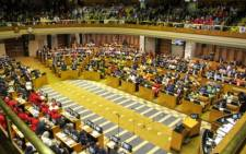 FILE: The EFF's request came up at Thursday morning's meeting of the National Assembly's programming committee. Picture: @GovernmentZA/Twitter.