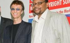 SAMRO chief executive Nicholas Motsatse (right) with Robin Gibb of Bee Gees fame at the World Copyright Summit in Washington in June 2009. Picture: SAMRO