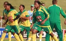 Bafana Bafana players attend a training session. Picture: Taurai Maduna/Eyewitness News