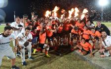 The Jaguares XV won SA's Currie Cup First Division title after beating the Griffons at the Sports Village in Potchefstroom on Friday, 30 August 2019. Picture: @JaguaresARG/Twitter