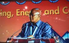 NUM General Secretary David Sipunzi. Picture: Qaanitah Hunter/EWN.