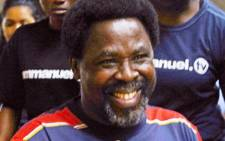 Founder of the Synagogue Church of All Nations TB Joshua. Picture: AFP.