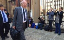 FILE: Former tennis champion Bob Hewitt outside court after being sentenced to an effective six years in jail for rape and indecent assault. Picture: Gia Nicolaides/EWN.