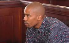 A screengrab of Kanya Cekeshe in the Johannesburg Magistrates Court on 14 October 2019.