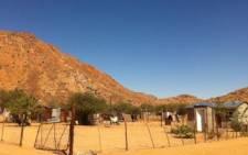 Riemvasmaak, a Northern Cape informal settlement about 54 kilometres from Kakamas. Picture: Nathan Adams/Eyewitness News