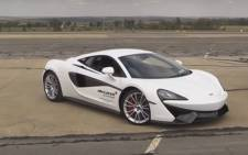 Screengrab of McLaren 570.