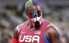 US Olympic team shot putter Raven Saunders. Picture: @Olympics/Twitter
