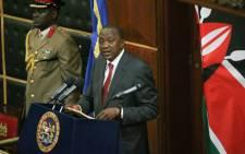 Kenyan President Uhuru Kenyatta. Picture: Facebook.
