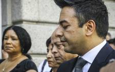 Shrien Dewani's family arriving at the Western Cape High Court ahead of his murder trial on 6 October 2014. Picture: Thomas Holder/EWN.