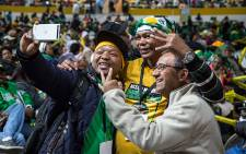 The Siyanqoba Rally in Bellville, Cape Town, saw some one thousand attendants supporting the ANC's municipal election campaign. Picture: Anthony Molyneaux/EWN