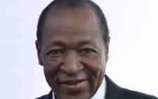 Burkina Faso President Blaise Compaore. Picture: EPA.