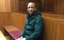 Mortimer Saunders, who confessed to the murder and rape of Courtney Pieters, is seen in the Western Cape High Court. Picture: Lauren Isaacs/EWN.