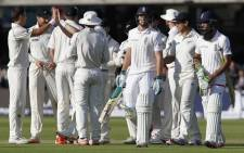 New Zealand bowled with fire and fielded superbly to crush England by 199 runs in the second test. Picture: AFP.