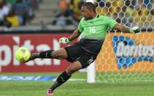 Bafana Bafana captain and goalkeeper Itumeleng Khune in action. Picture: Facebook.