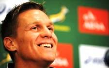Springbok captain Jean de Villiers. Picture: Springboks/Facebook.