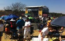 Thousands gathered at September's Joburg Day. Picture: Andrea van Wyk/EWN.
