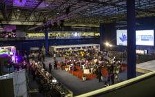 Election officials work hard on the main floor at the IEC national results centre in Pretoria on 3 August 2016. Picture: Reinart Toerien/EWN.