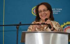 Cape Town Mayor Patricia de Lille. Picture: Facebook.com