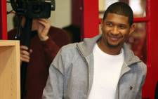 R&B singer Usher Raymond. Picture: AFP.