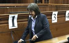 Cape Town Mayor Patricia de Lille in the Western Cape High Court on 4 June 2018. Picture: Lindsay Dentlinger/EWN