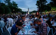 FILE: Turkish people break their fast on 6 June 2016 at the Blue Mosque square in Istanbul. Picture: AFP