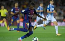 FILE: Barcelona player Ousmane Dembele. Picture: Twitter/@Dembouz
