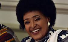 Winnie Madikizela-Mandela at her 80th birthday celebration. Picture: GCIS.