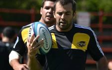 Hurricanes 2012 Super Rugby captain Conrad Smith training in Cape Town on 23 February 2012. Picture: Aletta Gardner/EWN