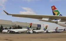 South African Airways fleet. Picture: Taurai Maduna/EWN