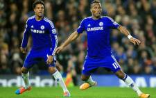 FILE: Chelsea's Didier Drogba and Loic Remy react during and EPL match in November 2014. Picture: Chelsea Facebook.