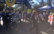 Participants at MTN Walk the Talk with 702. Picture: SA Police.