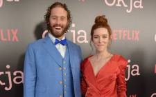 TJ Miller (left) and his wife Kate Gorney attend the 'Okja' New York Premiere at AMC Loews Lincoln Square 13 on June 8, 2017 in New York City. Picture: AFP
