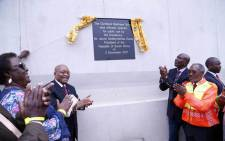 President Jacob Zuma officially opened the new Dumisani Makhaye Drive in Clermont in Durban on 2 December 2019. Picture: KZN Department of Transport