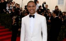 FILE: Trevor Noah at the Costume Institute Benefit Gala at the Metropolitan Museum of Art on May 4, 2015 in New York City. Picture: Getty Images/AFP.