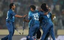 FILE: Sri Lanka beat South Africa by 87 runs in the second one-day international in Kandy. Picture: AFP.