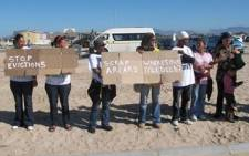 Residents protest against poor service delivery. Picture: Malungelo Booi/EWN