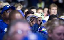 FILE: Democratic Alliance members during the voting session on policies on at the party's elective congress 8 April 2018. Picture: Sethembiso Zulu/EWN.