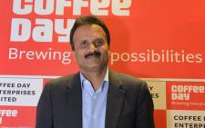 FILE: Indian coffee tycoon VG Siddhartha. Picture: AFP