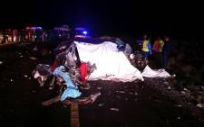 Horror early morning crash on N1 between Laingsburg and Prins Albert Road claims 5 lives Picture: @_ArriveAlive/Twitter.