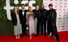 The cast of 'Dear Evan Hansen' at the Toronto film festival red carpet on 9 September 2021. Picture: @dehmovie/Twitter.