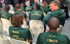 FILE: Select members of Team SA will be part of the greater SA squad representing the country in the Rio 2016 Olympic Games. Picture: Carl Lewis/EWN.