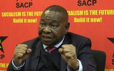 SACP general secretary Blade Nzimande.Picture Kgothatso Mogale/EWN