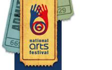 The National Arts Festival logo.