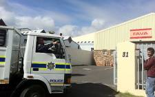 Police discovered a dagga plantation inside a warehouse in the industrial area of Montagu Gardens on 26 July 2012. Picture: Malungelo Booi/EWN