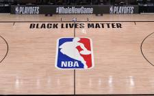 A general overall view of the Milwaukee Bucks against the Orlando Magic for Game five of the first round of the 2020 Playoffs as part of the NBA Restart 2020 on 26 August 2020 at AdventHealth Arena in Orlando, Florida. Picture: AFP