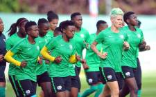 FILE: Banyana Banyana during a training session. Picture: @Banyana_Banyana/Twitter
