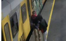 Prasa has released new CCTV images to encourage the public to come forward with information that could lead to the arrests of the four arsonists. Picture: Supplied