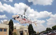 Netcare 911 airlifted a woman to hospital after she was hit by a train in Katlehong on 27 January 2015. Picture: Netcare911_sa.