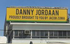 Anti-ANC billboard in Port Elizabeth. Picture: Siyabonga Sesant/EWN.